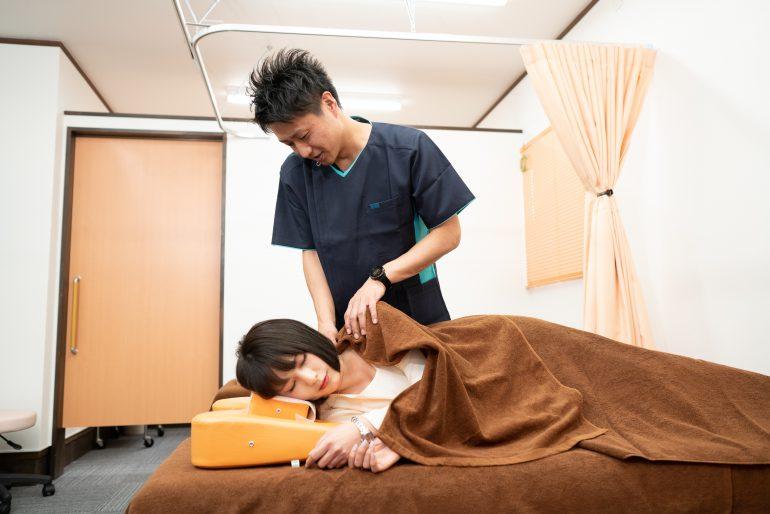 肩こりの施術|福島県伊達市